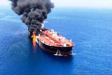 بريطانيا: الحرس الثوري هاجم ناقلتي النفط ببحر عمان