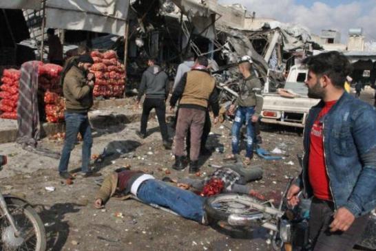 مجزرة معشور : العدو الايراني ينفذ مذبحة في مدينة معشور