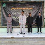 KH. Ghozi Mubarok Idris dalam pembukaan ujian tahriri akhir tahun TMI Al-Amien Prenduan