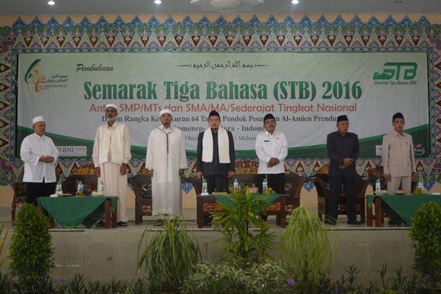 Pembukaan Semarak Tiga Bahasa (STB) 2016