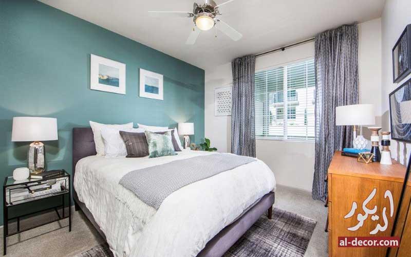 خلفية السرير هي سر جمال الغرفة
