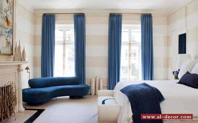 الستائر العادية Curtains و روعة البساطة