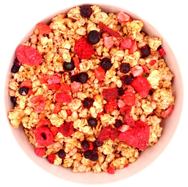 Crunchy frutos rojos ECO