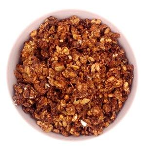 Muesli crujiente artesano de cacao y avellanas ECO