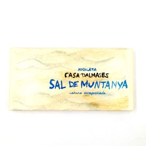 Tableta Chocolate y sal Casa Dalmases
