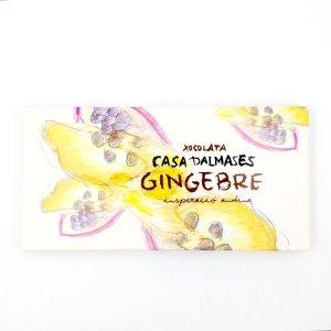 Tableta Chocolate Jengibre Casa Dalmases