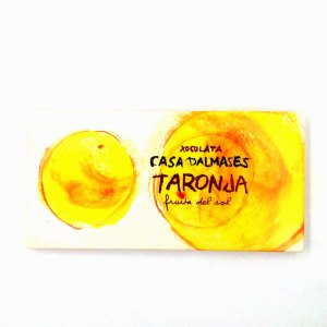 Tableta Chocolate Naranja Casa Dalmases