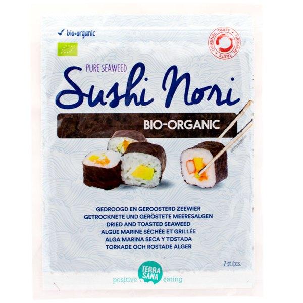 Nori en láminas para Sushi 17 gr 7 pcs