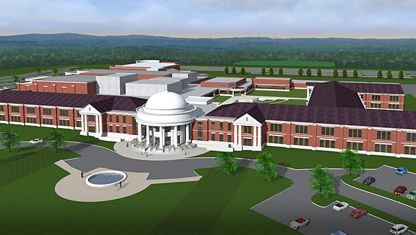 New Alabaster high school on track for 2017 opening