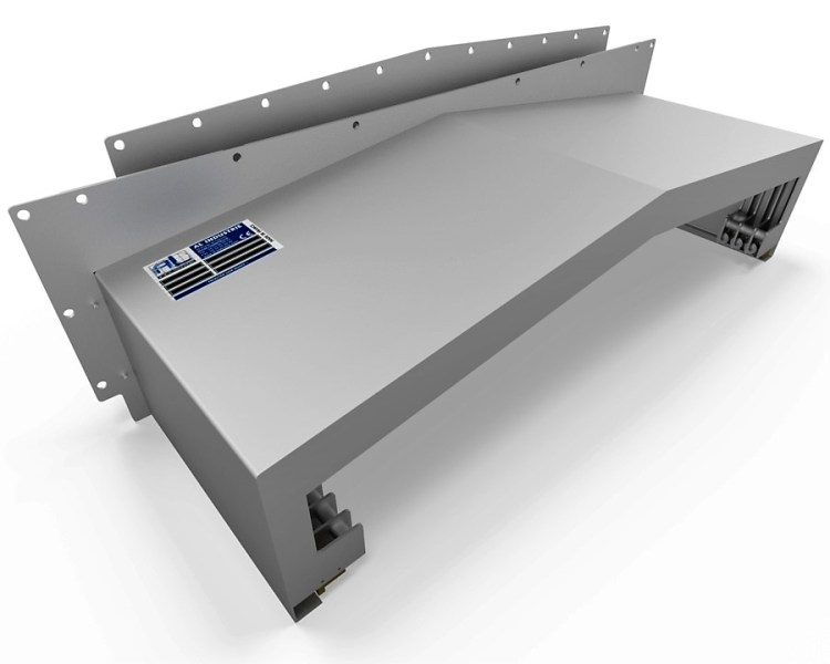 Protecteur télescopique MAKINO A77 Z côté opposé opérateur 2