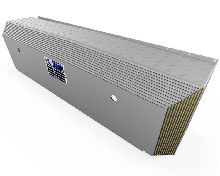 Protecteur télescopique GIDDINGS LEWIS FT 3500 Y arrière 1