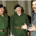 """فيصل القاسم يستشهد بفيديو لـ""""معمم شيعي"""" يمدح صدام حسين و""""عهده الميمون""""-فيديو"""