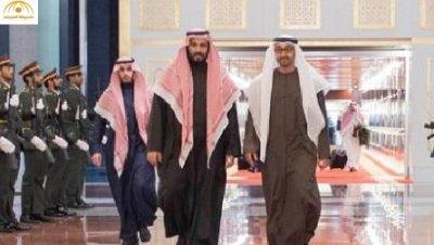 بالصور: سمو ولي عهد أبوظبي يستقبل محمد بن سلمان