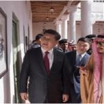 بالصور: خادم الحرمين يستقبل رئيس الصين في قصر المربع التاريخي