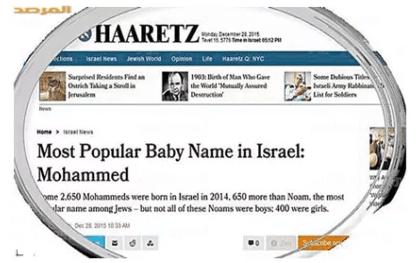 ماسبب تسمية 45 طفل يهودي في إسرائيل خلال عام بأسم محمد ؟!