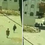 بالفيديو:يمني يسجل بهاتفه لحظات الهروب الجماعي لقوات الحوثي وصالح