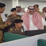 """مدير مكافحة المخدرات يزور مركز عمليات """"911 """" في مكة – صور"""