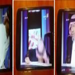 بالفيديو: ضيف «الثقافية» المسن يسقط من فوق الكرسي على الهواء