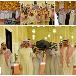 بالصور : أمير الرياض يؤدي صلاة الميت على الأمير سلمان بن فواز بن سعود