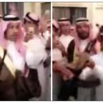 بالفيديو: بعدما حلف بطلاق زوجته .. مواطن يهدي صديقه قعودا بقيمة 600 ألف ريال وسلاح رشاش