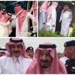 """بالصور.. """"محمد بن فهد """"يحتفي بزيارة خادم الحرمين وولي عهده للمنطقة الشرقية"""