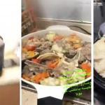 بالفيديو : موظفون يطهون « كبسة لحم » داخل محكمة !