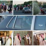 بالفيديو والصور:خادم الحرمين يصل إلى دولة الكويت