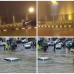 بالفيديو : إطلاق صافرة انذار السد في أبها بعد هطول الأمطار الغزيرة