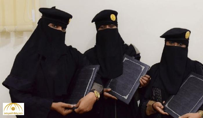 عسكريات سعوديات يتخلين عن الأبيض والوردي ويلبسن الخاكي والمنقط !