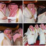 """بالصور:""""محمد بن فهد"""" وفنانون ورياضيون يستقبلون الأمير خالد بن سلطان بعد عودته من رحلة علاجية"""