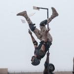"""بصور حصرية لـ """"المرصد"""".. شاهد """"فيديو"""" يوثق العرض العسكري لقوات الأمن الخاصة برعاية ولي العهد"""