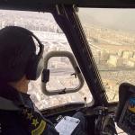 شاهد :طيران الأمن يواصل مهامه في خدمة الحجاج  ويلتقط صور من  سماء المدينة المنورة