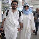 شاهد بالصور: الممثل التركي مراد يلدريم و زوجته ملكة جمال المغرب يذهبان لأداء مناسك الحج