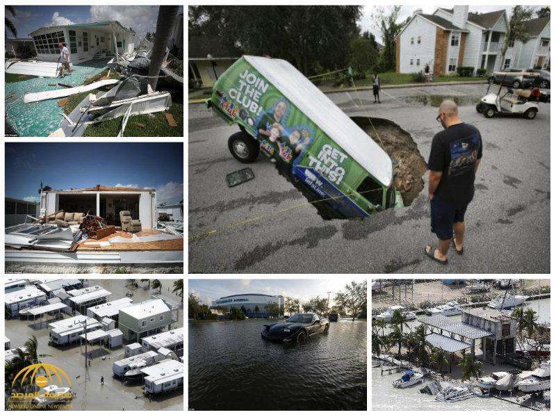 بالفيديو والصور:شاهد آثار الدمار الهائل لإعصار إيرما في فلوريدا !