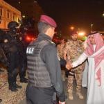 بالصور : وزير الداخلية يتفقد قوات الأمن الخاصة المشاركة في مهام أمن حج هذا العام