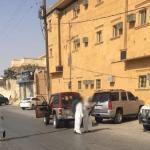 بالفيديو والصور:مضاربة جماعية و تبادل إطلاق نار أمام محكمة بحفر الباطن والسبب خلاف حول زواج!