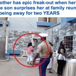بالفيديو: صدمة.. أم تجتمع بولدها بعد غياب عامين..شاهد ردة فعلها الغريبة!