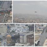 على ارتفاع 500 قدم .. شاهد طيران الأمن يرصد المناطق المتضررة من الأمطار بجدة