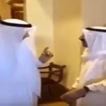 """شاهد.. أمير الكويت لـ""""السفير القطري"""": الله يكفينا شركم !"""