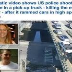 بالفيديو .. شاهد شرطة رود آيلاند تحاصر أمريكي وتقتله بـ 40 طلقة بعد مطاردة مثيرة