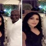 """بالفيديو .. ريم عبدالله تلتقط سيلفي مع ماجد عبدالله : """"سعدت بشوفتك"""""""