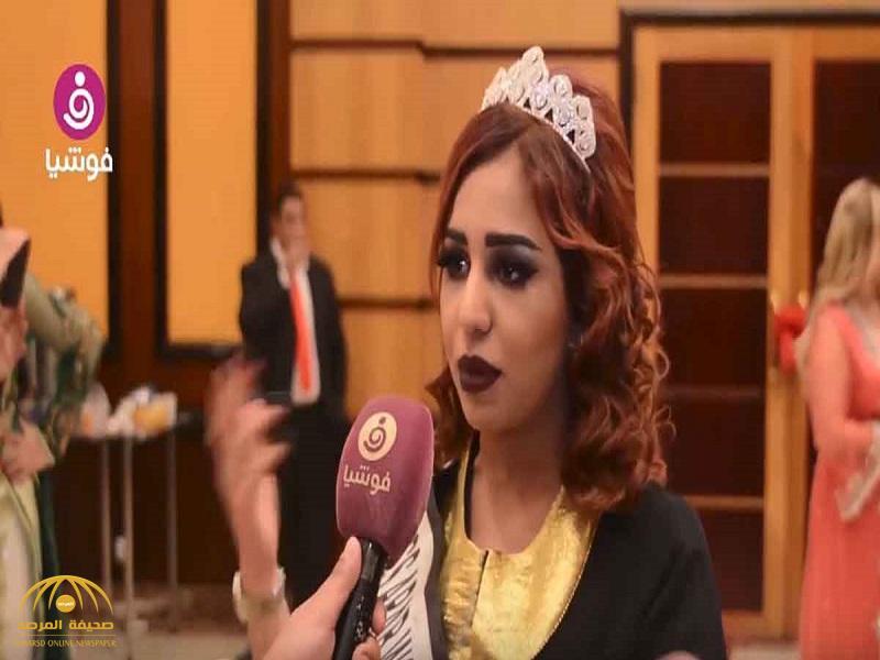"""ملكة جمال السعودية: هذه المصممة خافت على سمعتها مني.. واشترطت هذا الأمر لكي """"تلبسني""""-فيديو"""