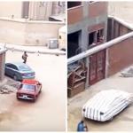 تبادل إطلاق النار بين الشرطة المصرية وإرهابيين أمام كنيسة حلوان