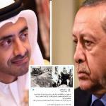 """بسبب إعادة تغريدة … أردوغان  يهاجم """"عبدالله بن زايد"""" : عليك أن تعرف حدودك!"""