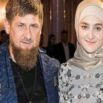 """لؤلؤة الجبل.. بالصور: """"عائشة"""" ابنة رئيس الشيشان تفوز بجائزة عالمية في أزياء السهرات!"""