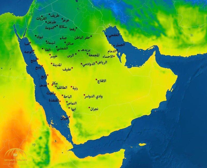هطول أمطار غزيزة على 3 مناطق في المملكة