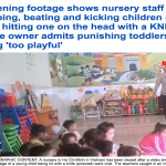 حتى السكاكين استخدمتها.. فيديو مروع.. شاهد: كيف تعامل موظفة حضانة الأطفال والرُضع؟!