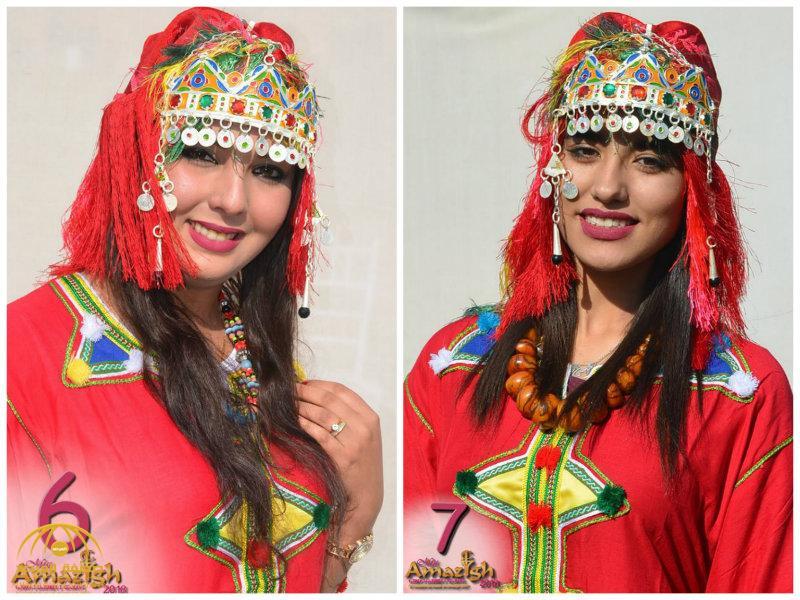 """بالفيديو والصور: جميلات المغرب يتنافسن لنيل لقب """"ملكة جمال أمازيغ"""""""