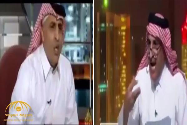 """بالفيديو.. شاهد فضيحة """"قناة الجزيرة"""" تستضيف شخص كمعارض سوري ثم تعود وتستضيفه كمعارض سعودي !"""