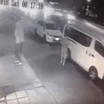 شاهد .. لحظة تصدي مقيم مصري شجاع لـ 3 لصوص حاولوا سرقة مطعم بالدمام